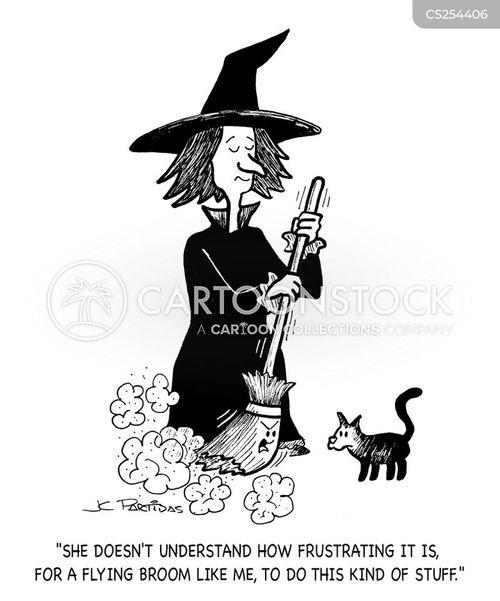 Witch-craft Cartoons And Comics