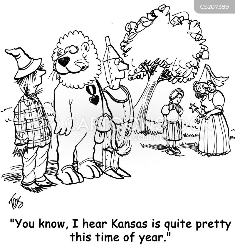 kansas cartoon