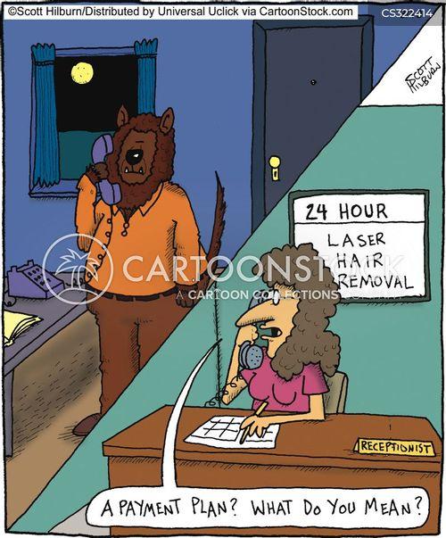 wolfmen cartoon