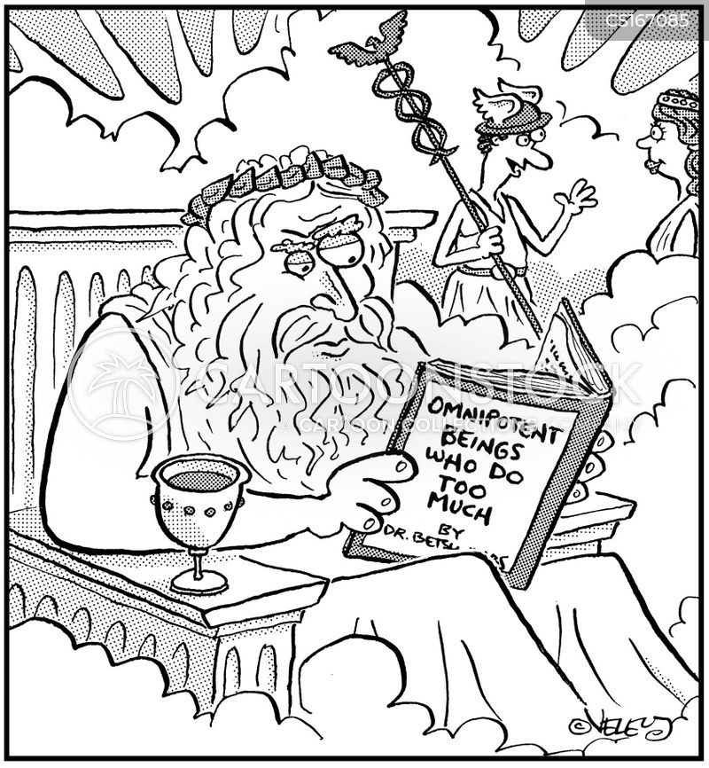 zeus cartoon