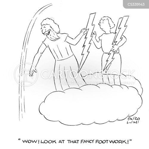 thunder bolts cartoon