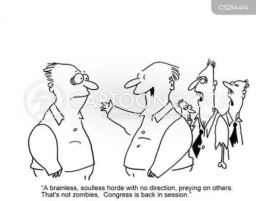 unpopular professions cartoon