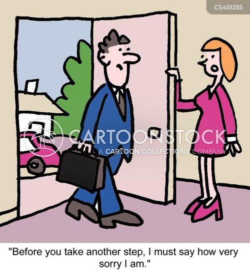 apologetic cartoon