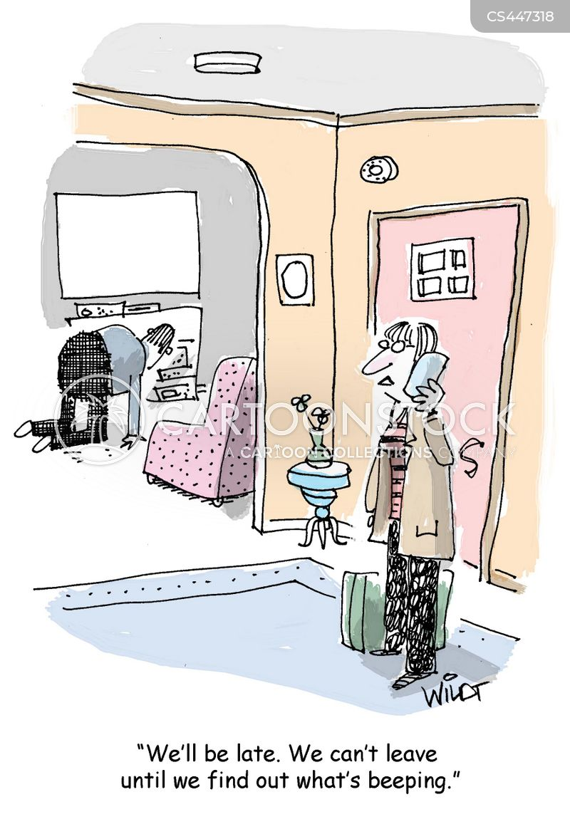 electronic devices cartoon