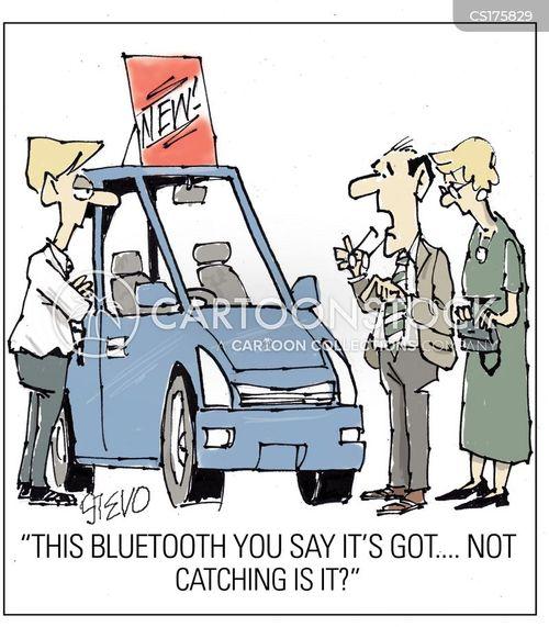 motoring cartoon