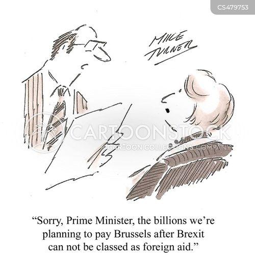 trade deal cartoon