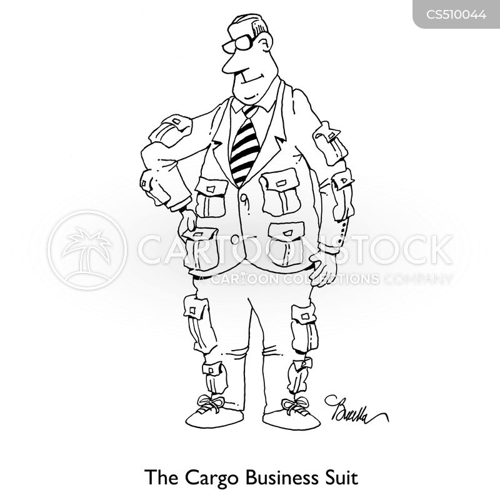 business casual cartoon