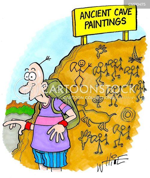 cultural heritage cartoon