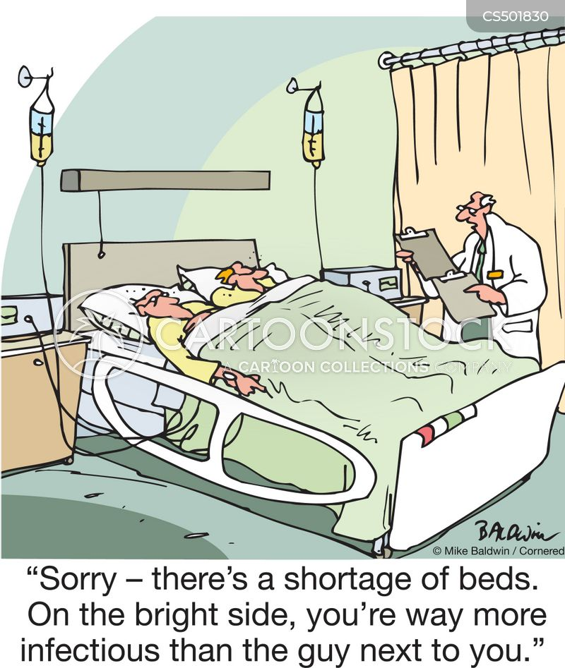 Hospital Bed Shortage Cartoons and Comics - funny pictures from CartoonStock