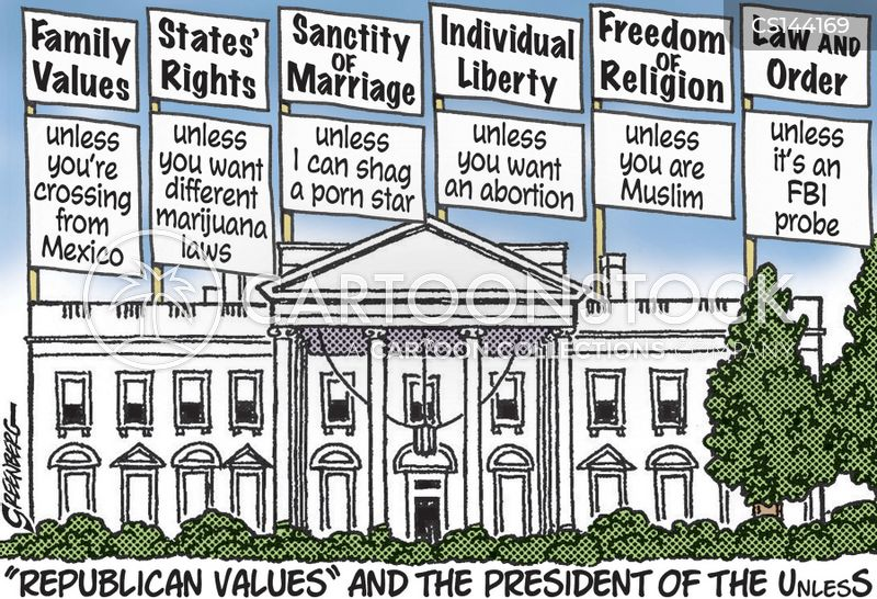 Republican Values cartoons, Republican Values cartoon, funny, Republican Values picture, Republican Values pictures, Republican Values image, Republican Values images, Republican Values illustration, Republican Values illustrations