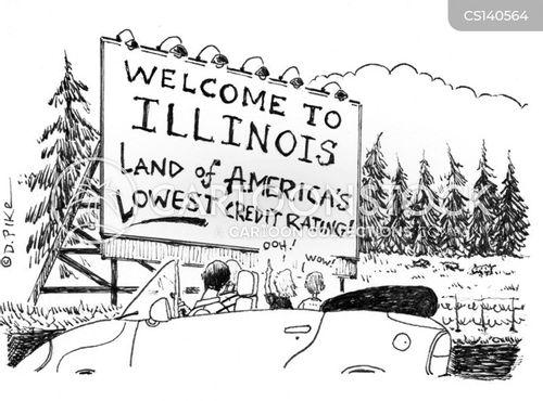 midwestern cartoon