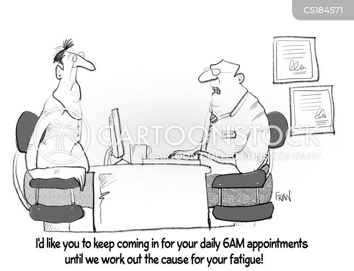 fatigue cartoon