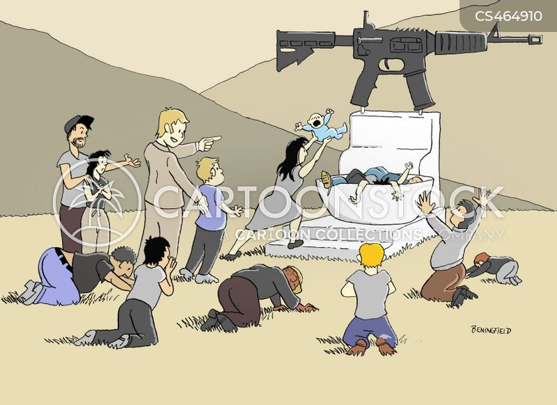 Gun Nut cartoons, Gun Nut cartoon, funny, Gun Nut picture, Gun Nut pictures, Gun Nut image, Gun Nut images, Gun Nut illustration, Gun Nut illustrations