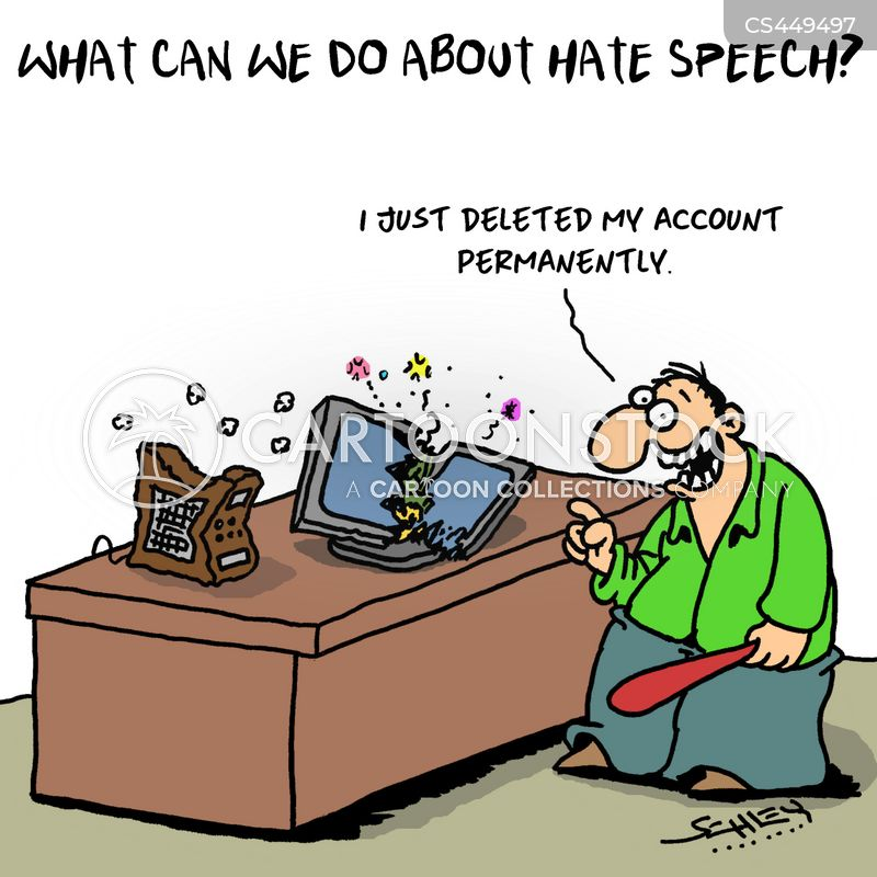 online accounts cartoon