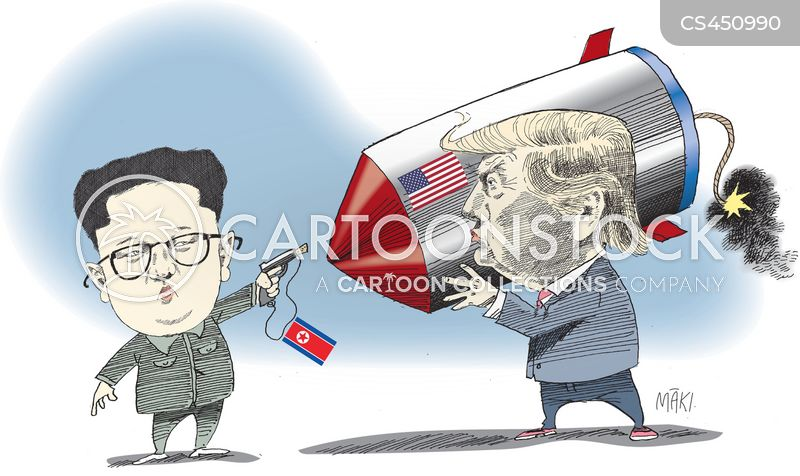 Kim News and Political Cartoons