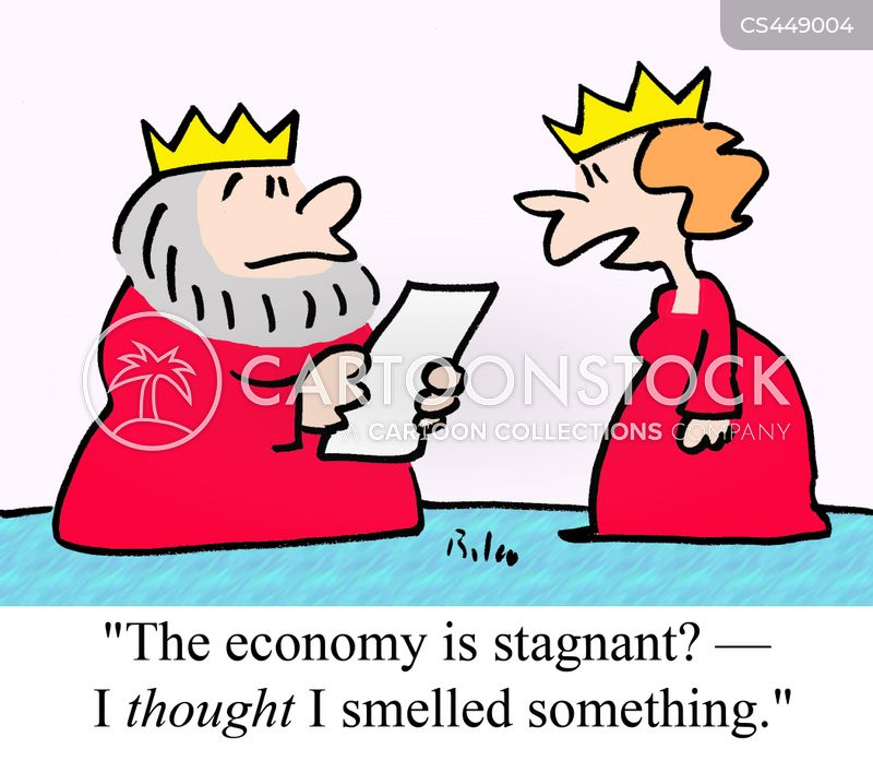 stagnation cartoon