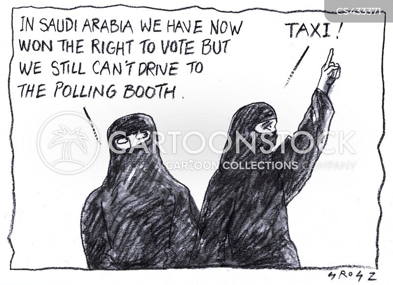 Image result for WOMEN RIGHT IN SAUDI ARABIA CARTOON