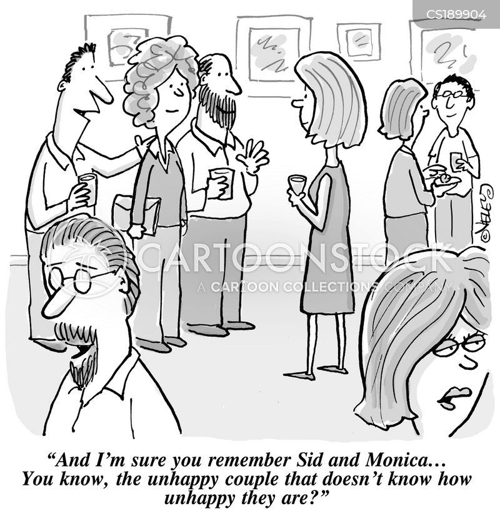 happy marriage cartoon