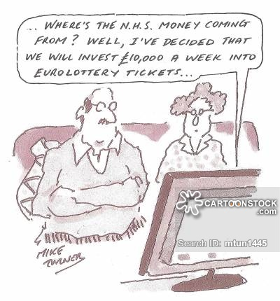 Image result for NHS money  cartoons