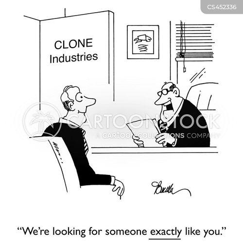 cloned cartoon