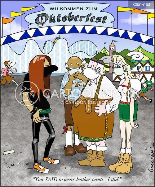 oktoberfest cartoon