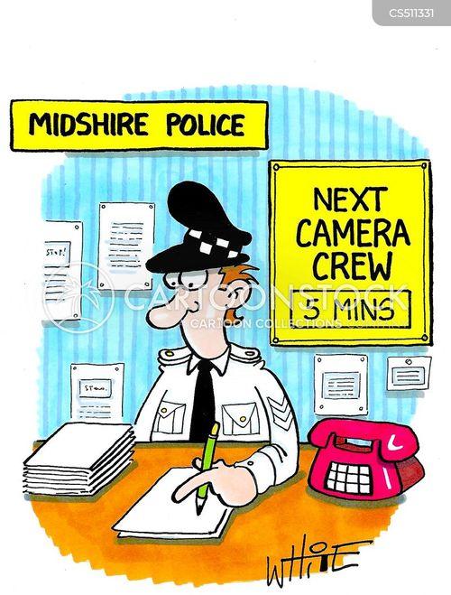 crime drama cartoon