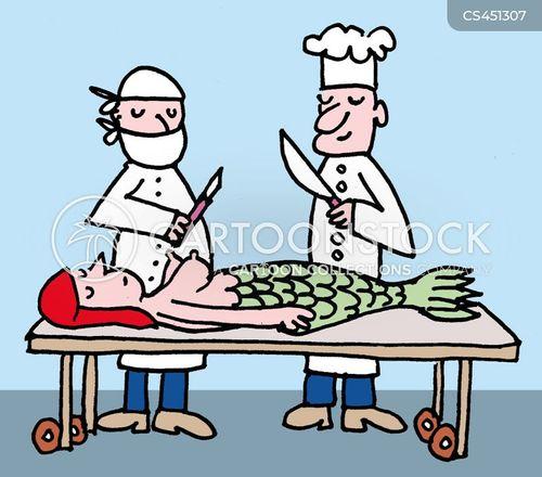 operating table cartoon