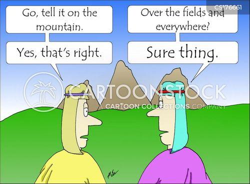 gospel cartoon