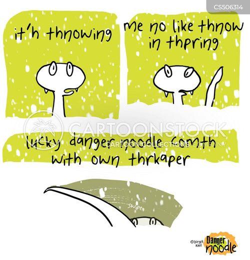 wiper cartoon