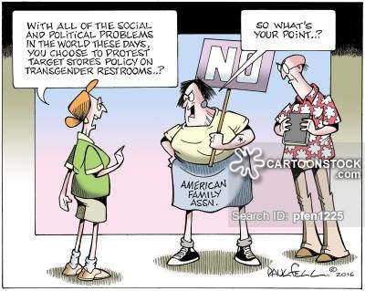 Bathroom Controversy News And Political Cartoons