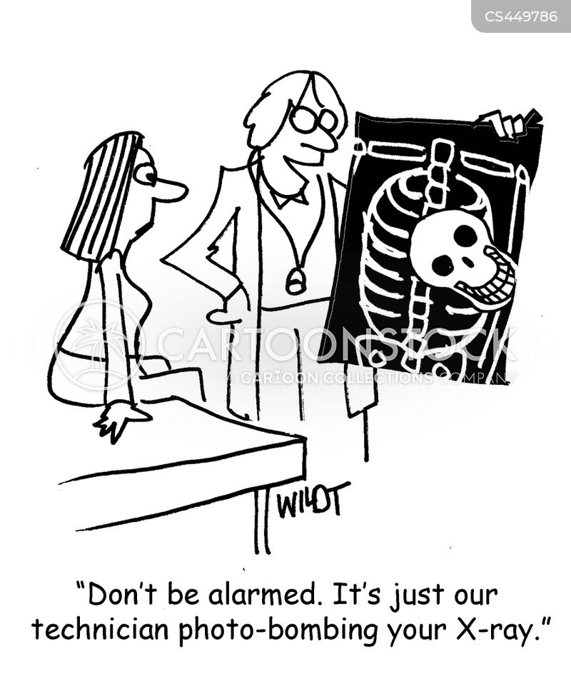 ct scan cartoon