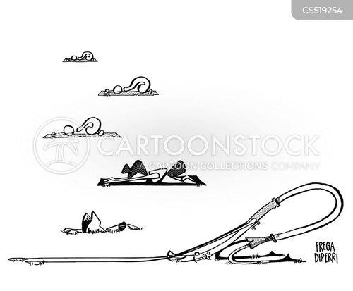 yoga pose cartoon