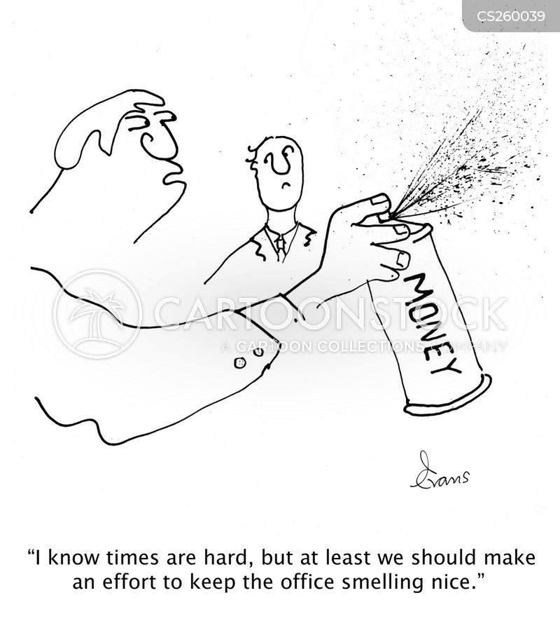 aerosols cartoon