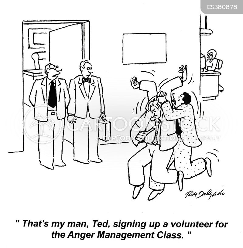 anger management class cartoon