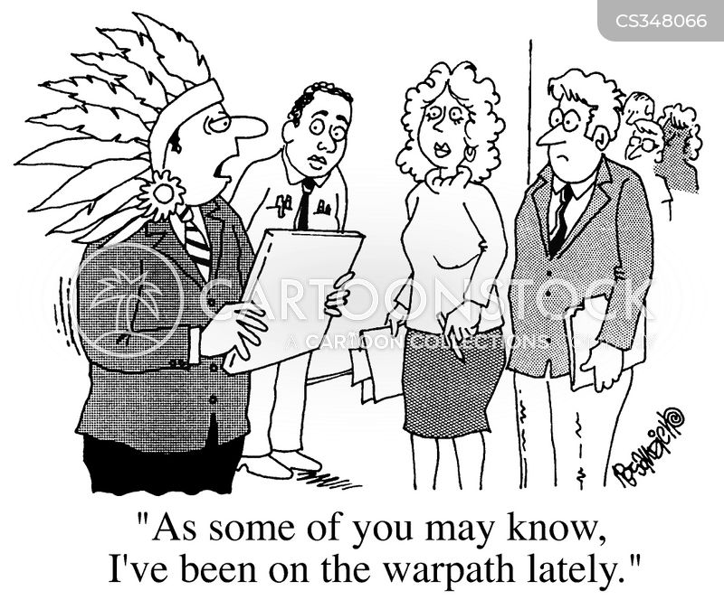 head dress cartoon