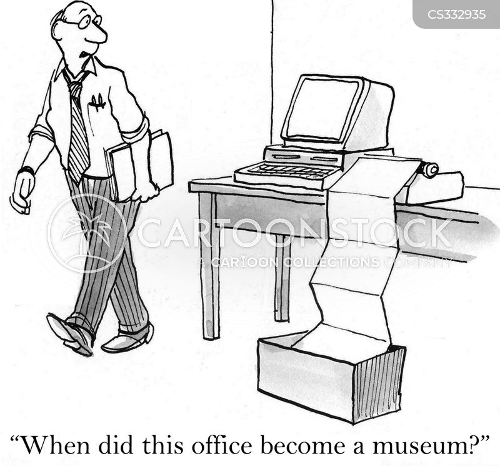 museum piece cartoon