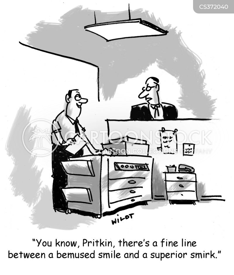 fine lines cartoon