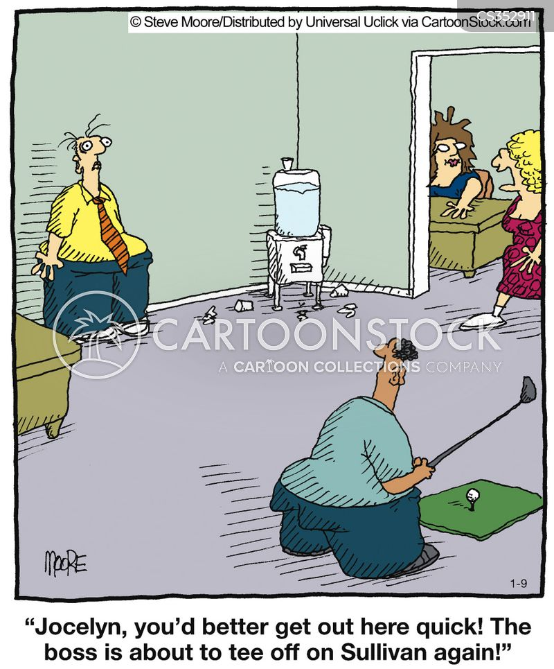Golf Practice Cartoons And Comics Funny Pictures From
