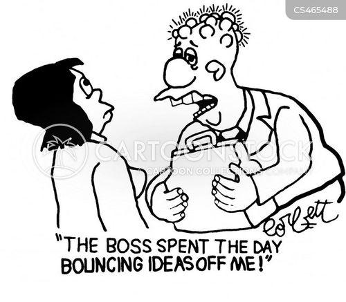ideas person cartoon
