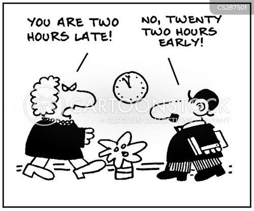 earliness cartoon