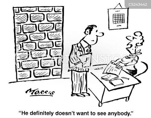 disturbances cartoon