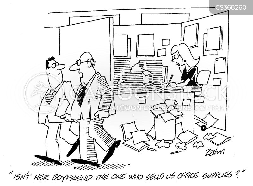 distribution of resources cartoon