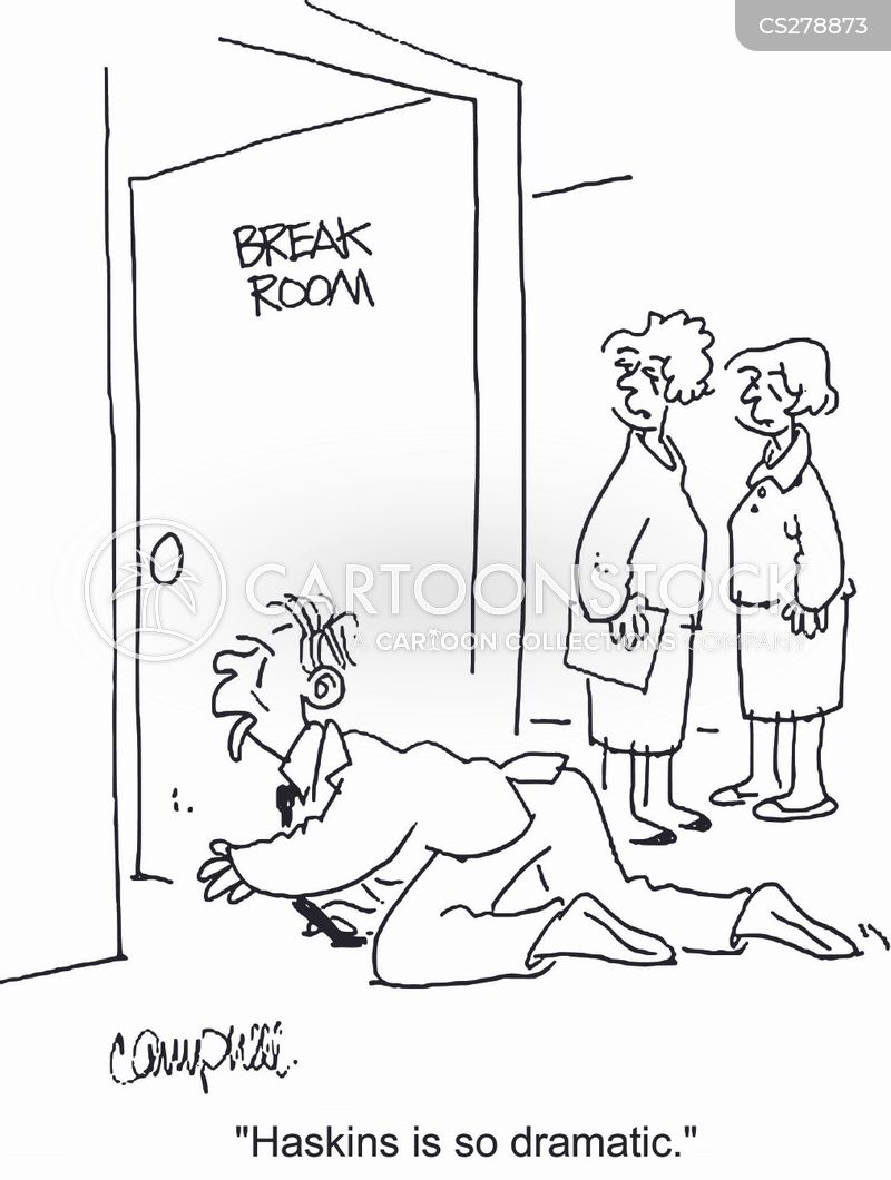 breakroom cartoon