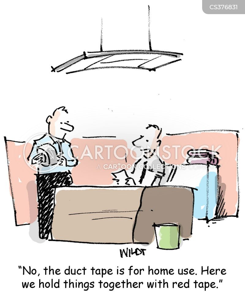 duct tapes cartoon