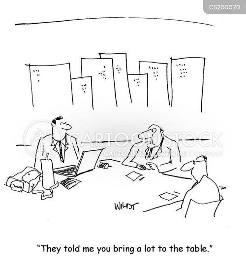 conferencing cartoon