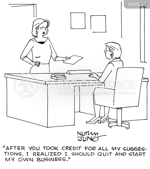 back-stabber cartoon