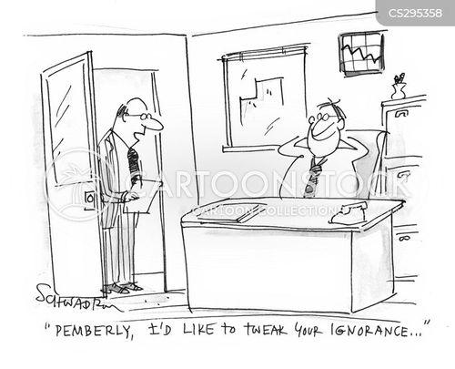 job stresses cartoon