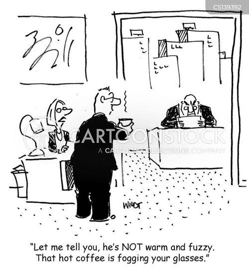 warm and fuzzy cartoon