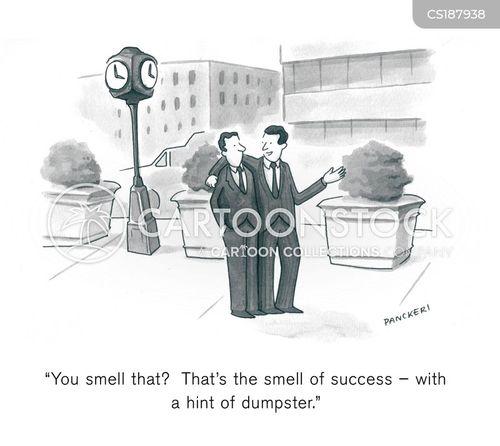 dumpsters cartoon
