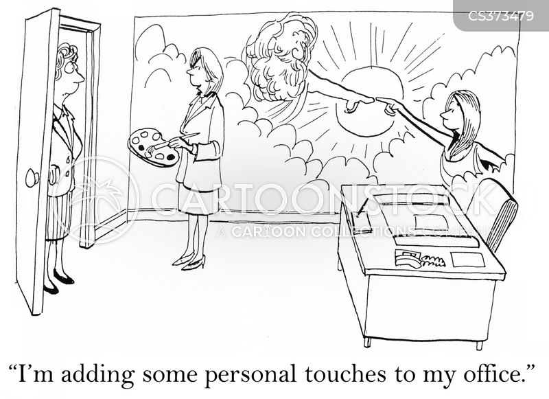 personal touch cartoon